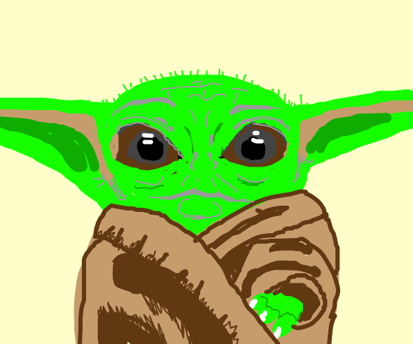 Baby Yoda's Stando