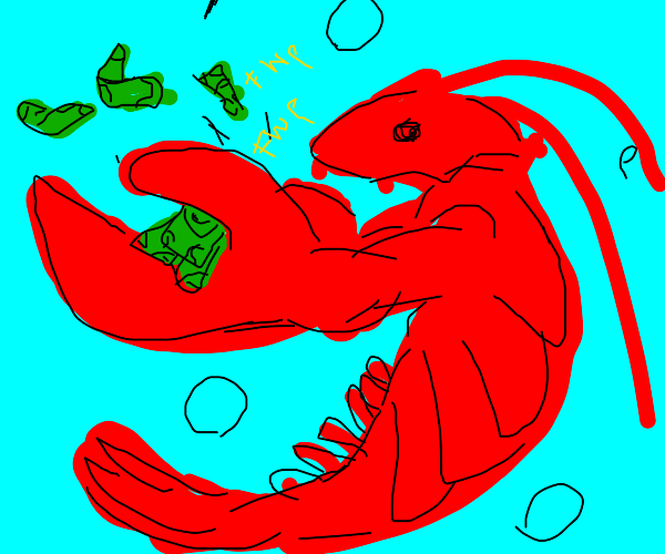 $lobster is rich$