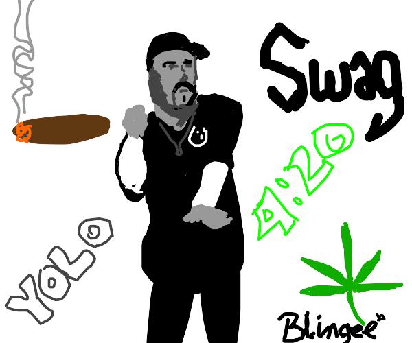 yolo swag gangster 420