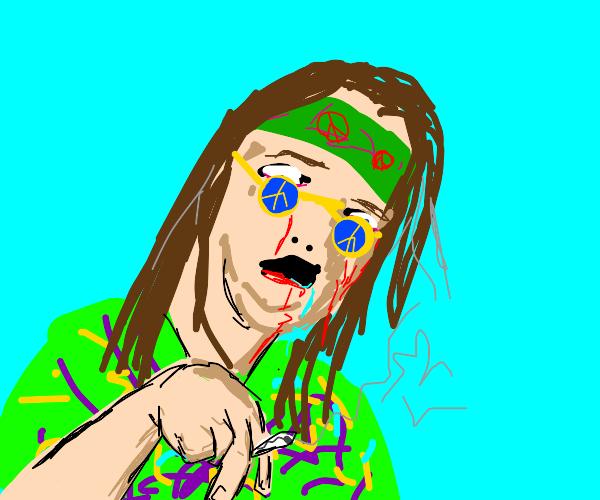 Diseased hippy