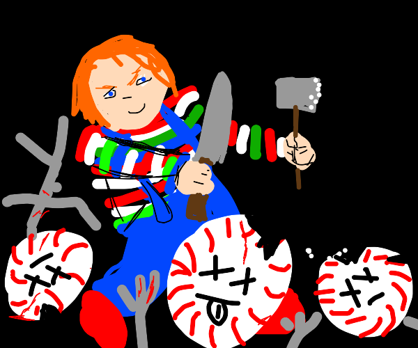 Chucky doesn't like peppermint people