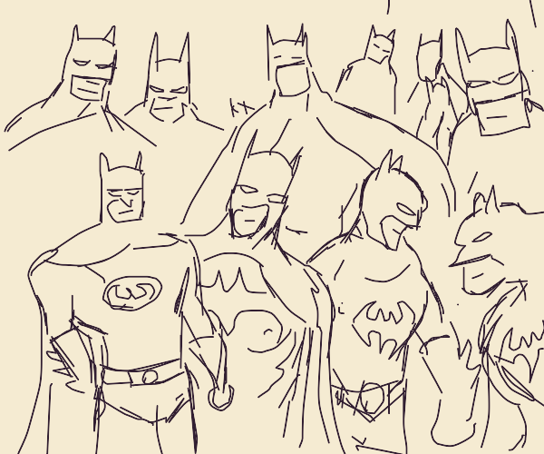 too many bat men