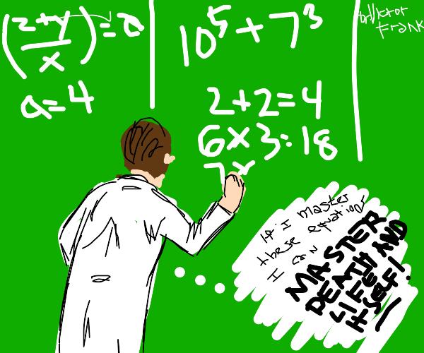 Frankenstein learning basic maths