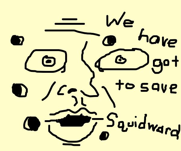 save squidward