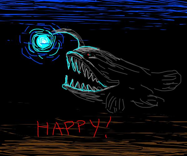 Happy anglerfish