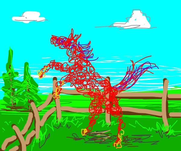 yarn horse