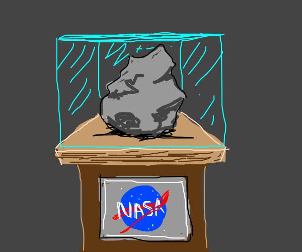 nasa rock