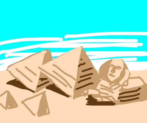 diagonal Egypt