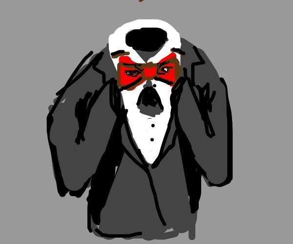 tuxedo scream