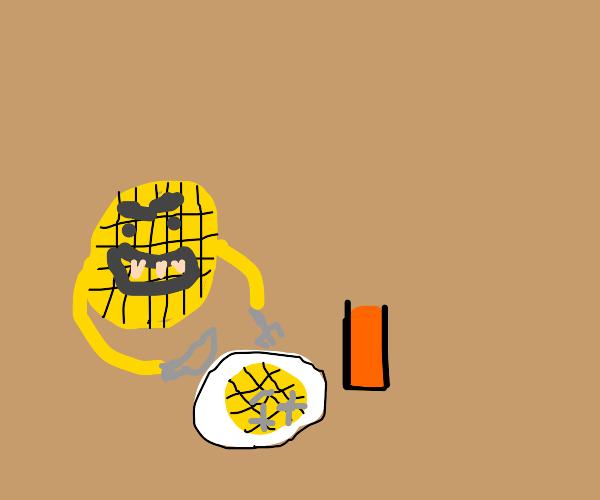 Waffle cannable
