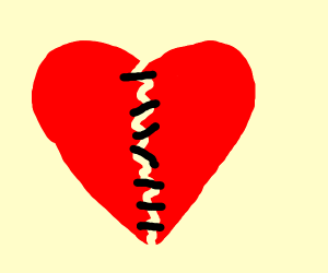 Stitching Together a Broken Heart