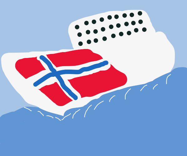 Norwegian ship