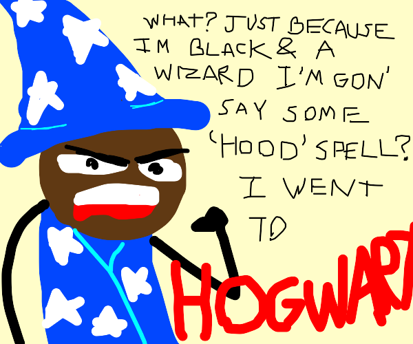 African-American wizard