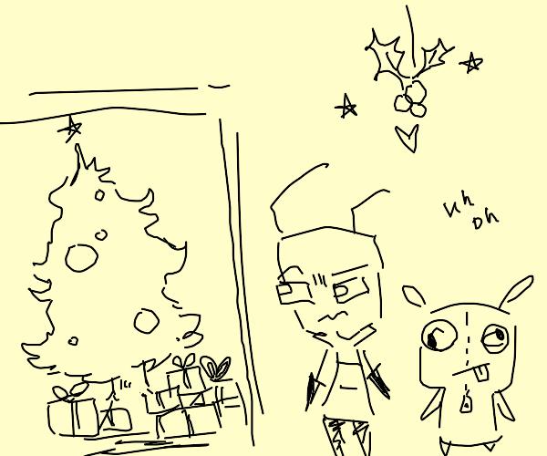 Invader zim Christmas