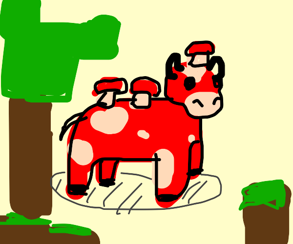 Mushroom cow minecraft