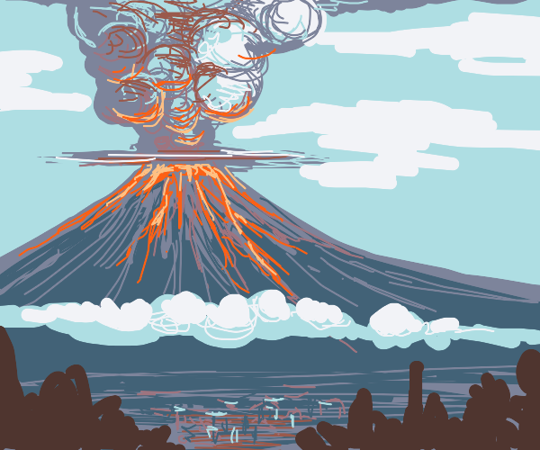 Volcano Erruption.