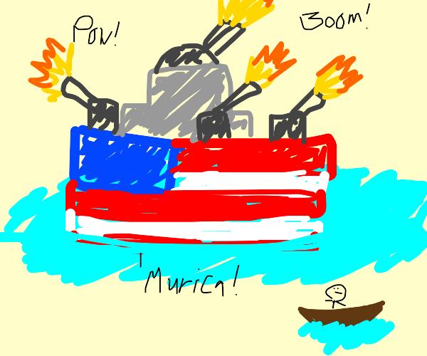 America boat