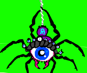 Spiholder (spider + beholder)