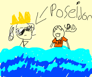 Poseidon Owns The Sea. Deal With It.