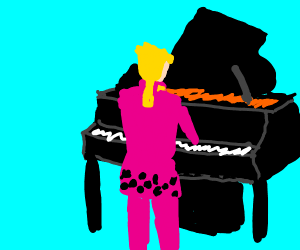 Piano about to fall, Giorno is almost ready