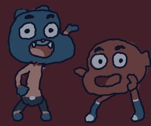 Gumball and Darwin