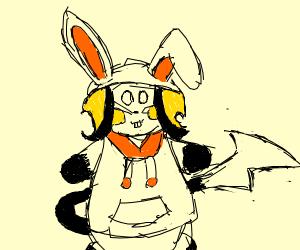 Raichu Bunny