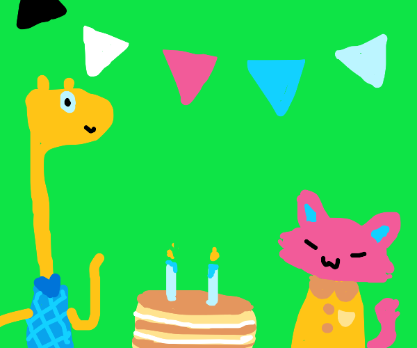 Furry's second birthday party