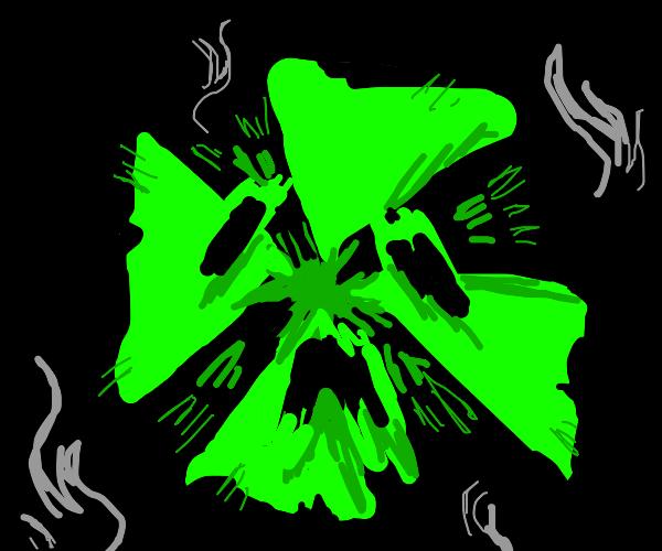 radioactive scream