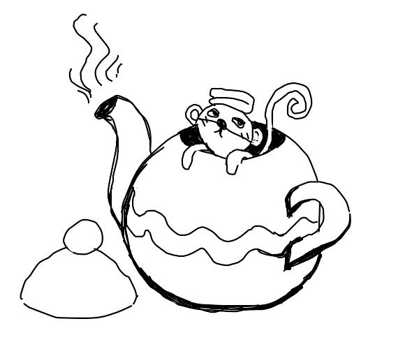 Monkey in a Teapot