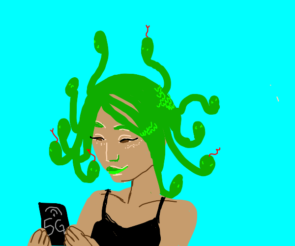 Medusa visited the future