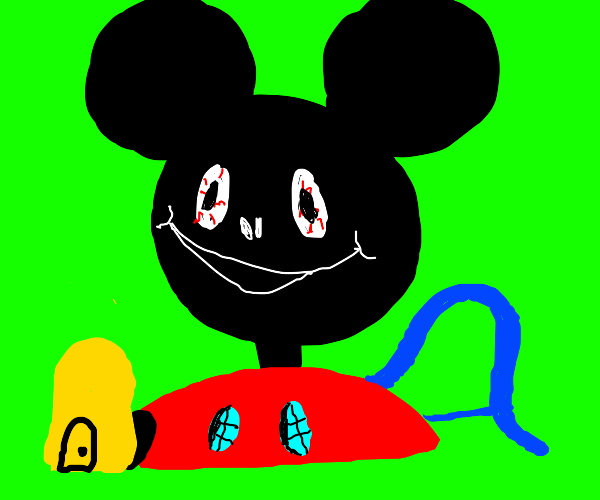 mickey mouse crackhouse