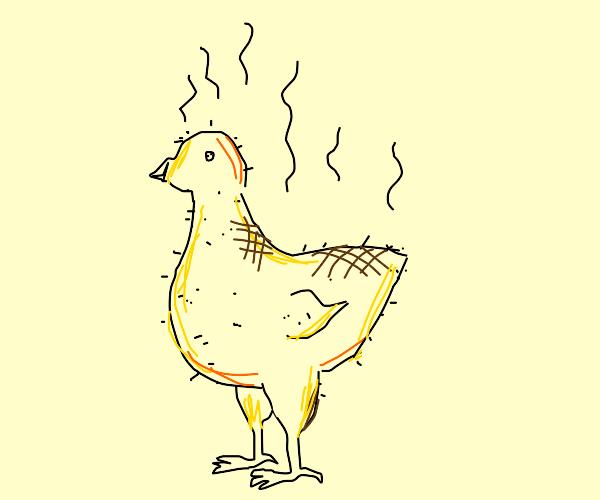 Roasted chicken is STILL ALIVE!!!