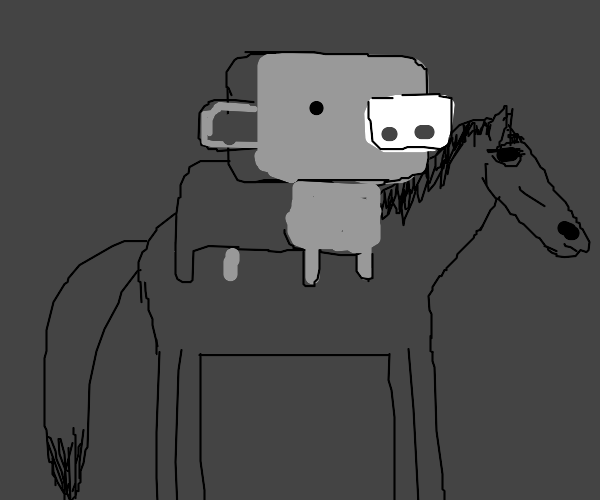 wumpus from discord riding