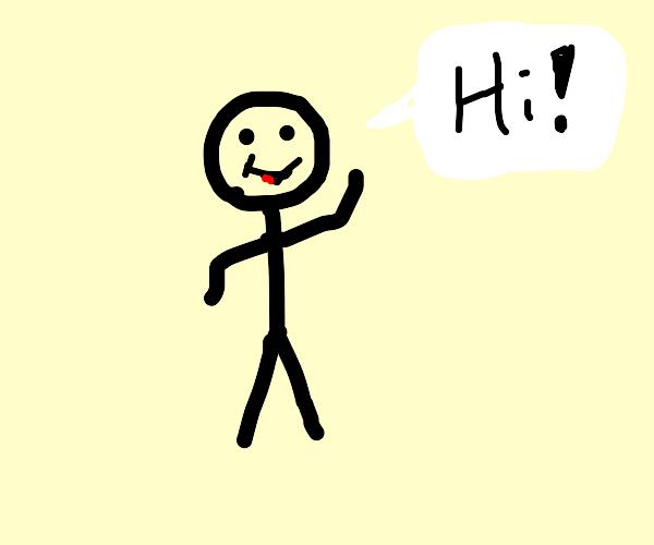 da man says hi