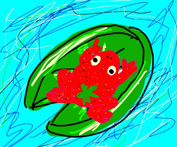 Strawberry Frog!