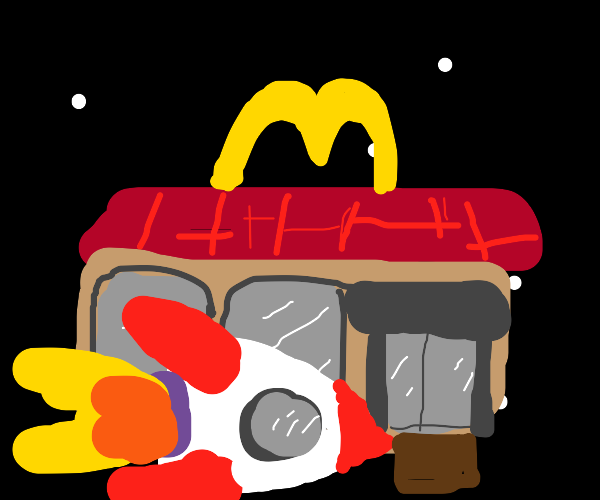 MCdonalds in space