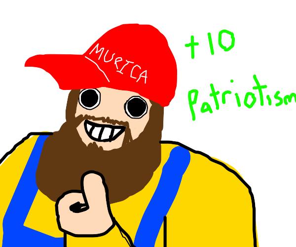 redneck +10 patriotism