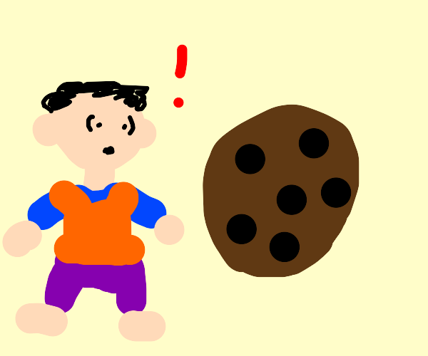 Look! A cookie!
