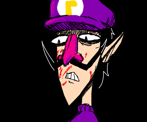 (its implied that) someone murdered wario