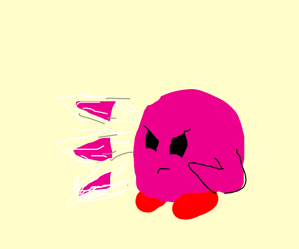Kirby flurry punches