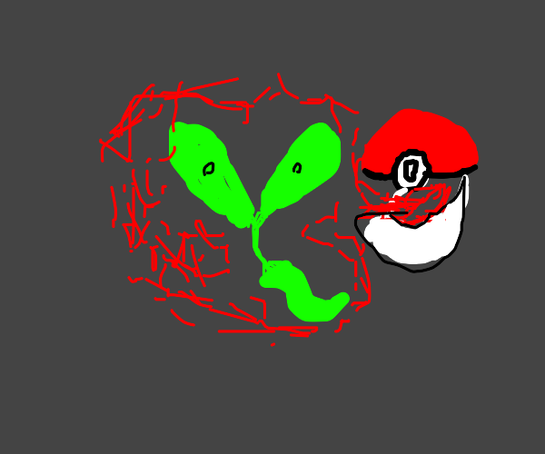 Applin Pokemon without its apple
