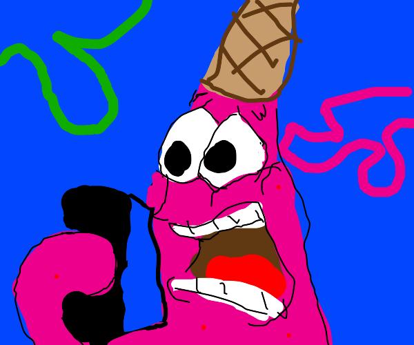 Patrick goes WEE WOO WEE WOO WEE WOO WEE WOO-