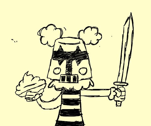 clown knight