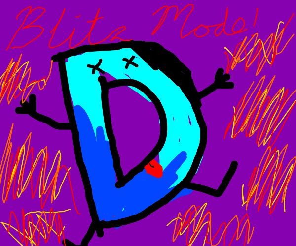 blitz mode shuts down drawception