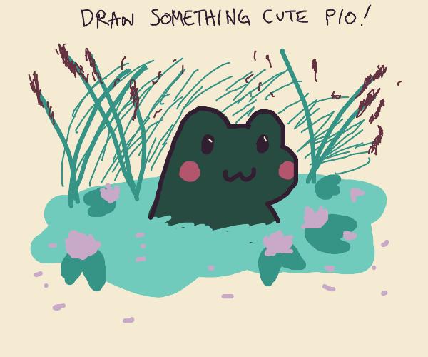 draw something cute!