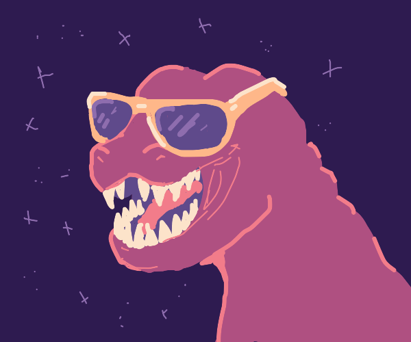 coolest dino you ever did see