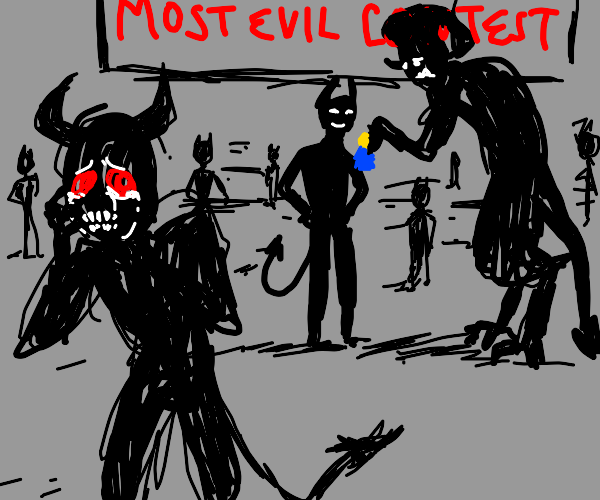 crying demon thought he was the most evil