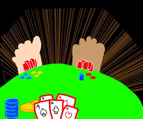 Cards, poker, and feet