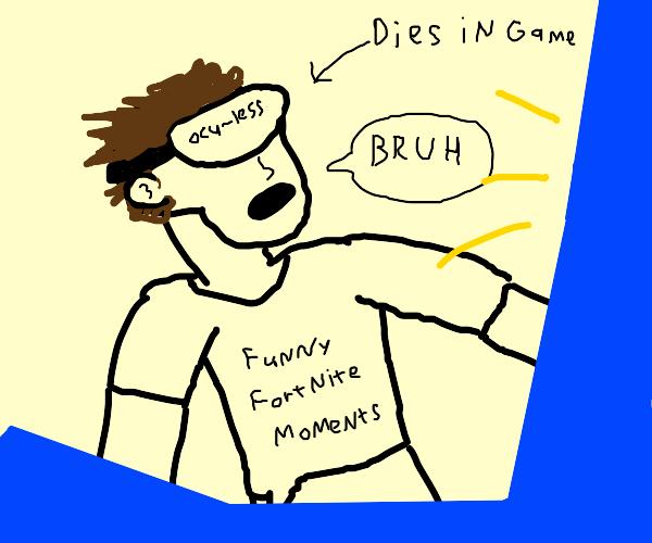 Gamer says bruh