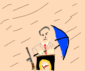 Governor in a Dust Storm